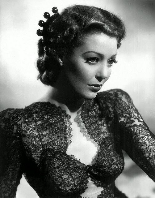 Loretta Young,beauty,gray,magazine