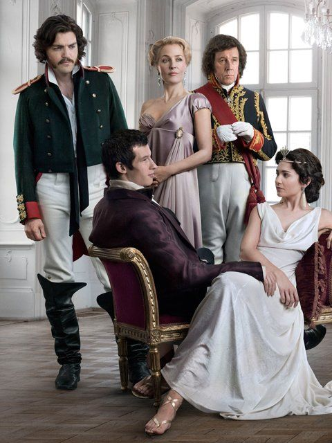 Tom Burke as Dolokhov in War and Peace, 2016 TV mini series.