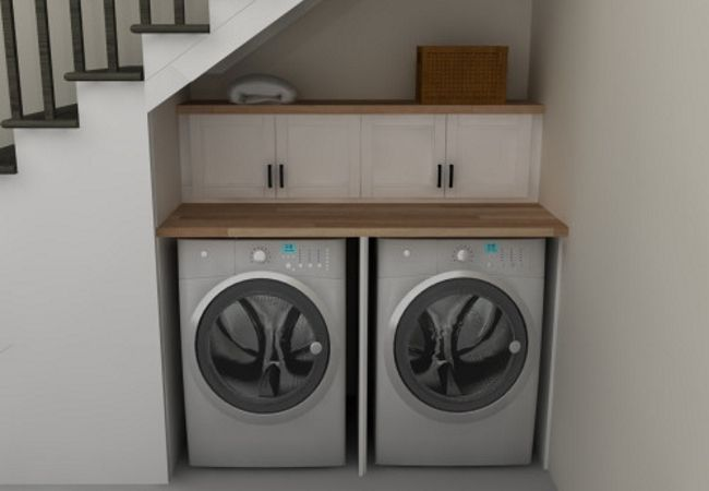 Compact laundry and utility