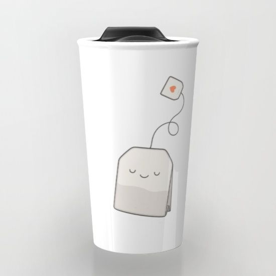 Buy Tea time Travel Mug by kim vervuurt. Worldwide shipping available at Society6.com. Just one of millions of high quality products available.