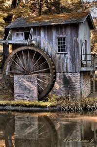 Old water mill  Port Gibson Miss.