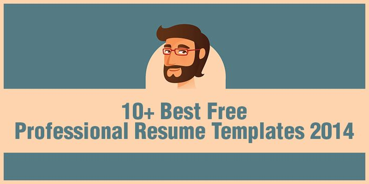 10+ Best Free Professional Resume Templates 2014 | Web Development |  Pinterest | Professional Resume Template And Professional Resume  Free Resume Templates 2014