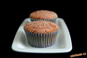 Úžasné skořicové muffiny - cinamonn muffins- wonderfull!