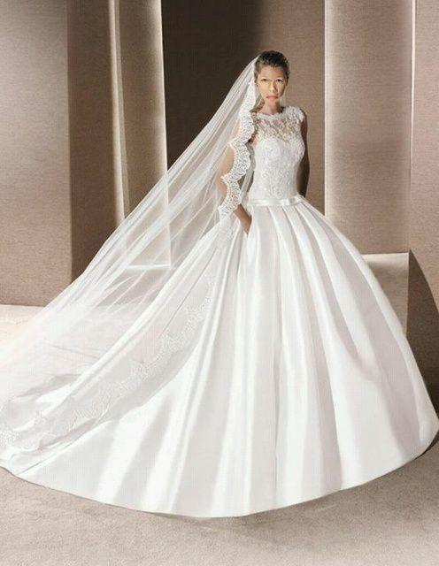 42 best Brautkleider images on Pinterest   Hochzeitskleider ...