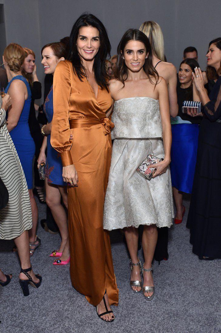 Pin for Later: Toutes les Femmes Influentes d'Hollywood Se Sont Rendues à la Soirée Annuelle Organisée Par Elle Angie Harmon et Nikki Reed