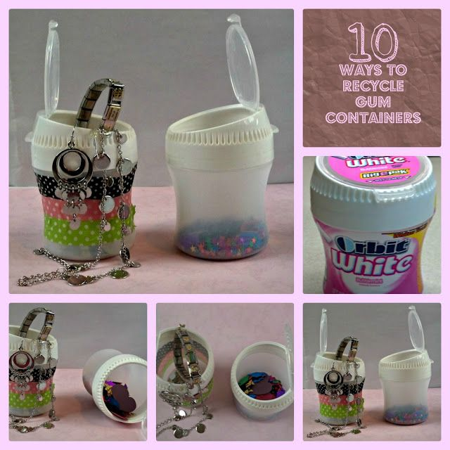 Super clever crazylou creations 10 ways to recycle gum for Reduce reuse recycle crafts