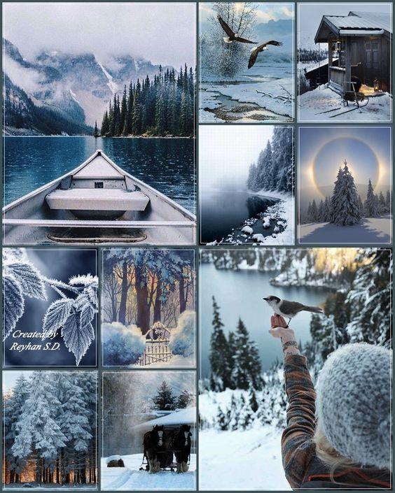 '' Winter Blues '' by Reyhan Seran Dursun: