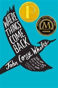 http://www.adlibris.com/se/organisationer/product.aspx?isbn=1442413344 | Titel: Where Things Come Back - Författare: John Corey Whaley - ISBN: 1442413344 - Pris: 108 kr