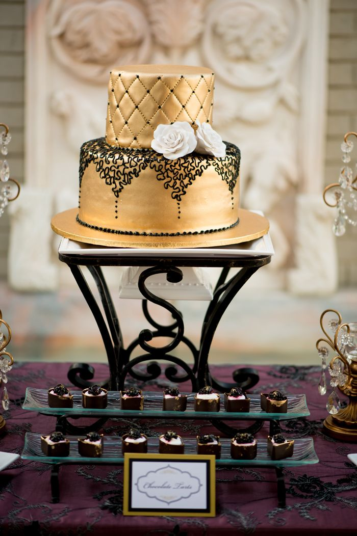 Lea S Glamorous Boudoir Bridal Shower Eyes Gold Bridal