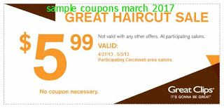 Great Clips coupons for march 2017