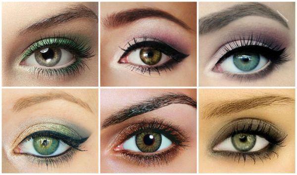 maquillage yeux verts journee