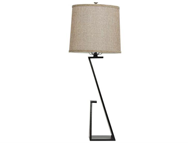 308 noir furniture zander black buffet lamp