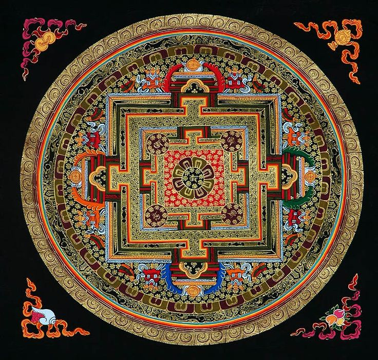 Om: The Mandala of Adi-Buddha