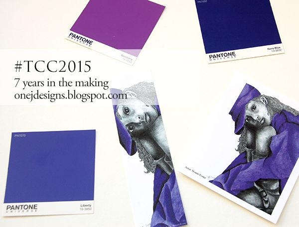 Stationery for the fashionistas - Purple works