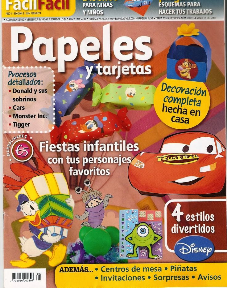 17 best images about revistas de manualidades on pinterest - Manualidades para fiestas ...