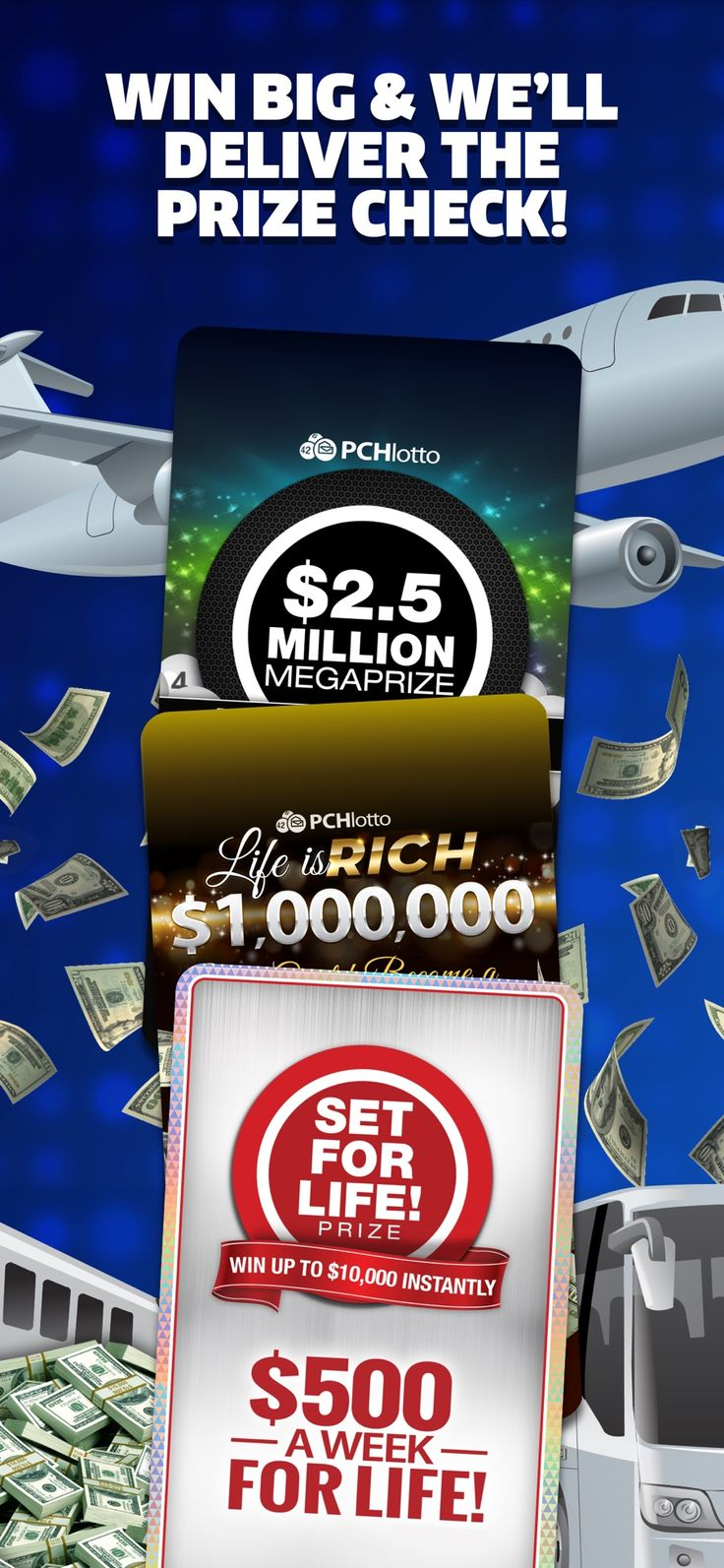 PCH Lotto Real Cash Jackpots on the App Store in 2020