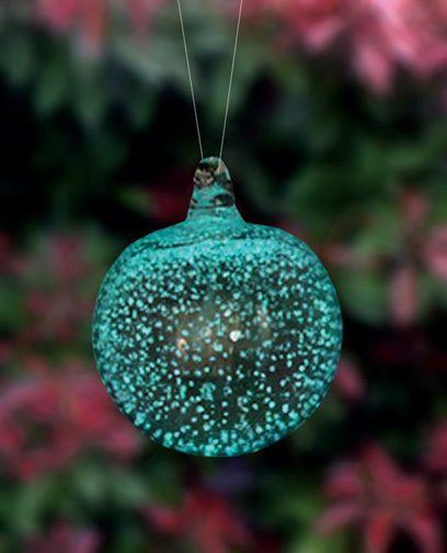 Garden Decorations: Stardust Ornament 3.5in Green