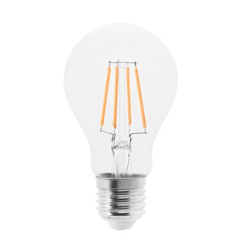lunnom led leuchtmittel e27 600 lm rund klarglas wohnzimmer led lampe leuchtmittel e27 und. Black Bedroom Furniture Sets. Home Design Ideas