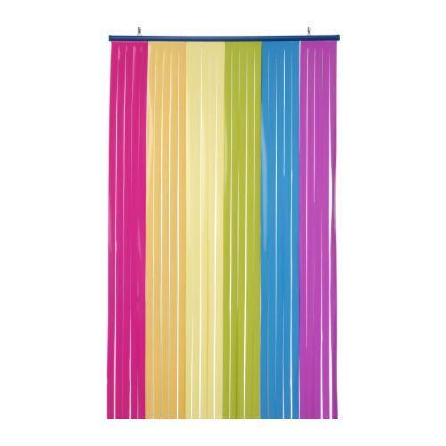 Rainbow curtain