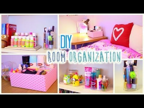 DIY Room Organization and Storage Ideas | How to Clean Your Room - YouTube