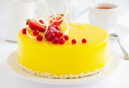 Zrkadlová glazúra na torty a múčniky   Božské recepty