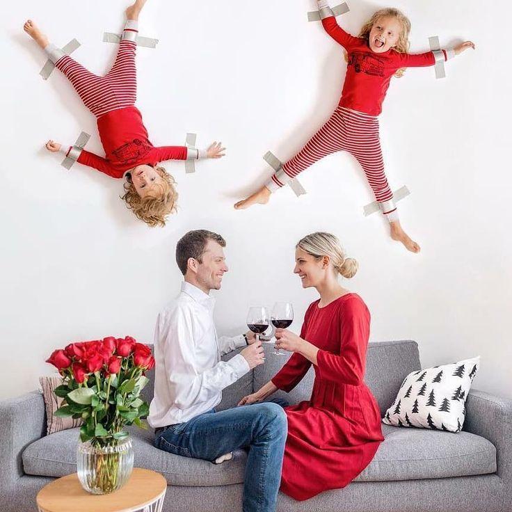 идеи для прикольной фотосессии семьей создания очень