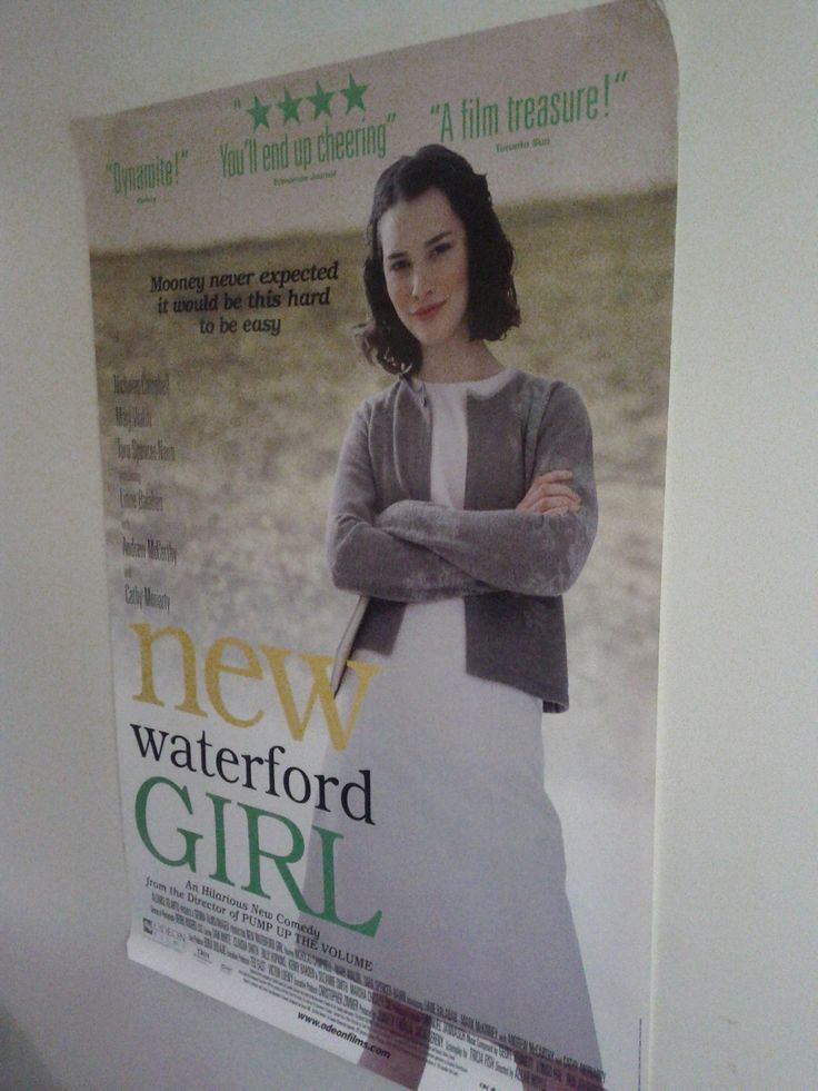 New Waterford Girl Poster $15.75 (Plus Shipping and Handling)