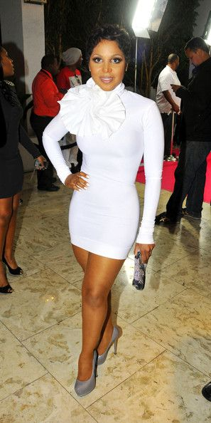 Style Evolution: Toni Braxton | All White Everything