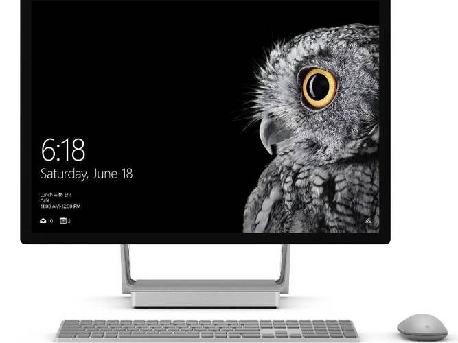 RHEINPFALZ.de: Microsoft zeigt All-in-One-PC Surface Studio