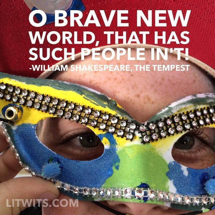 Shakespeare Quotes In Brave New World: LitWits® Images On Pinterest