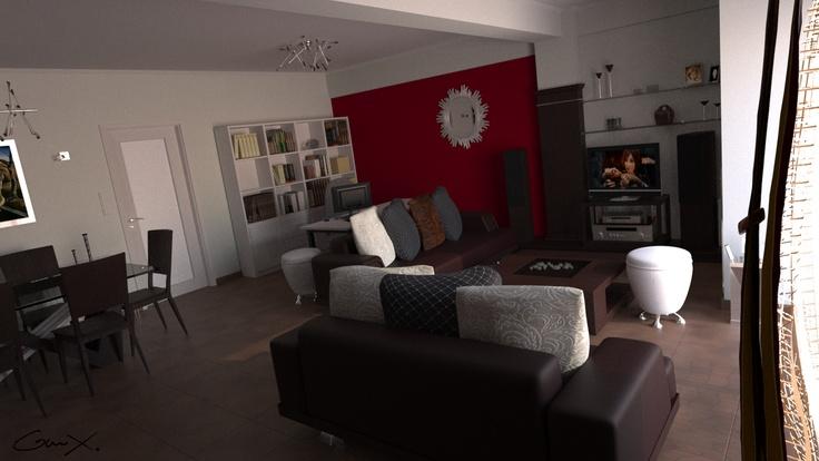 GreekX CG Freelancer: The house im living in !