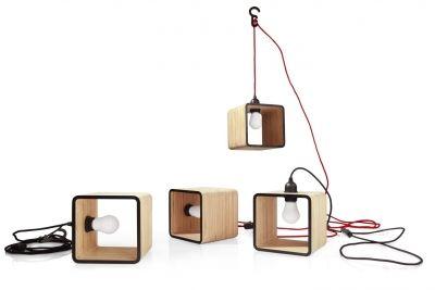 Lampania - lampa wisząca i stojąca w jednym // Tabanda