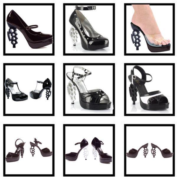 Brass Knuckle Shoes Heels