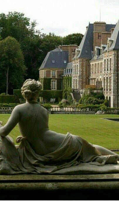 Chateau de Courances, Ile de France: