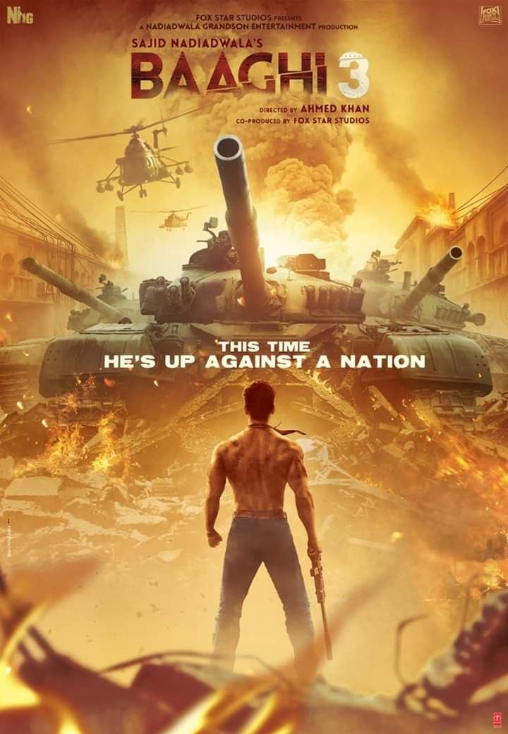Pin By King Ali On Movies Posters 2020 Tiger Shroff It Movie