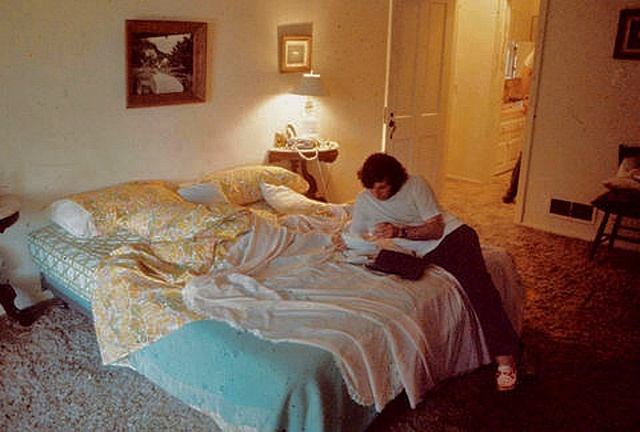August 1969 ~ Roman Polanski In The Bedroom He And Sharon Shared At 10050 Cielo DR Upon His Return Home After The Murders