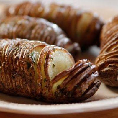 Hasselback Potatoes (Pioneer Woman) Recipe by cquinn827 - Key Ingredient
