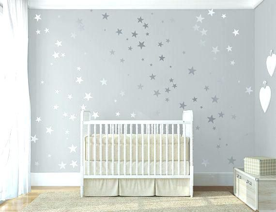 Star Nursery Decor Moon And Stars Nursery Decor Confetti Stick Op Wall Art Vinyl Sticker Decal Baby Door Sun Mo Baby Nursery Decor Baby Room Decor Star Nursery