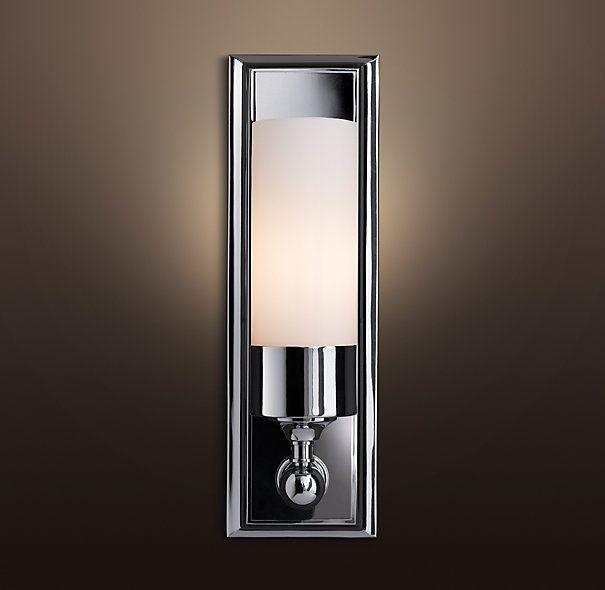 for bathroom lighting.. Keller Sconce again.. Restoration Hardware