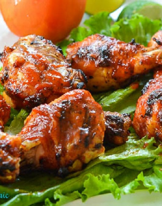 Low FODMAP and Gluten Free Recipes - Spiced smoky barbecued chicken http://www.ibssano.com/low_fodmap_recipe_spiced_chicken.html