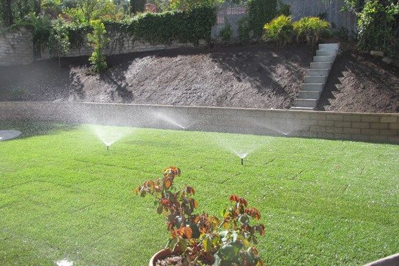 To provide the right amount of water to your garden and lawn, we install the services of: lawn sprinkler systems, water irrigation systems. #IrrigationServices  #gardening #planting #landscaping #moorpark #sanfernandovalley #california
