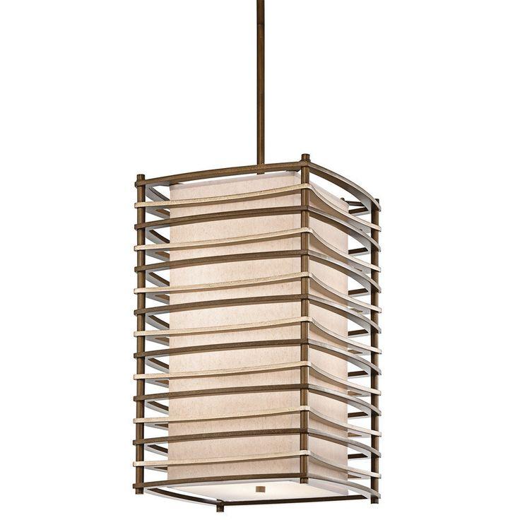kichler lighting moxie collection 4light cambridge bronze pendant