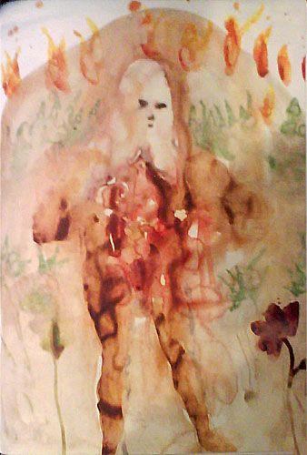 Miquel Barcelo illustrates Inferno.