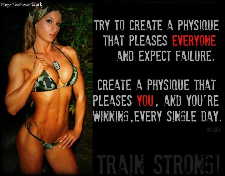 Create A Physique That Pleases You