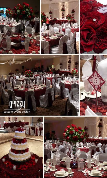 34 best images about burgundy maroon wedding on pinterest wedding receptions and wedding ideas - Burgundy and white wedding decorations ...