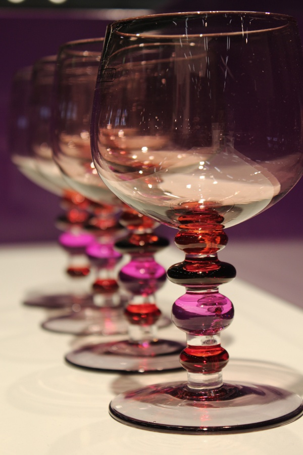 Fantazyjne kieliszki Sagaform w sam raz dla wielbicieli wina ;)
