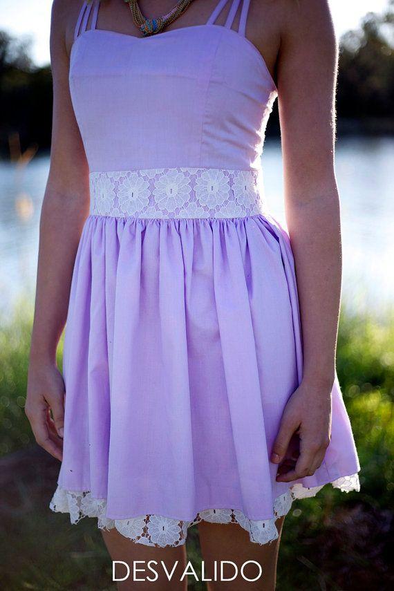 Purple Desvalido pastel dress by Desvalido on Etsy