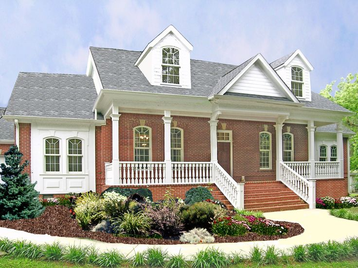 formal gracious country ranch home plan 016d 0018