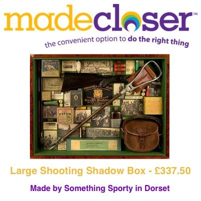 Product of the Week: Large Shooting Shadow Box made by Something Sporty in Dorset