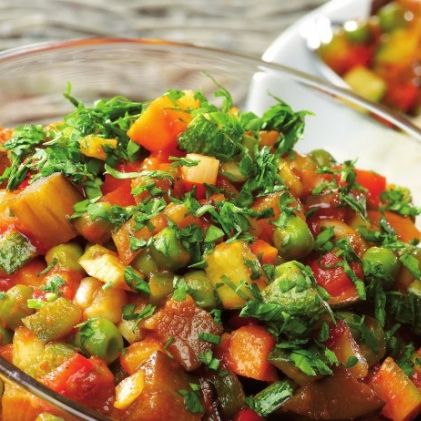 Mediterranean Vegetables Tomato Sauce for Pasta and Pilaf